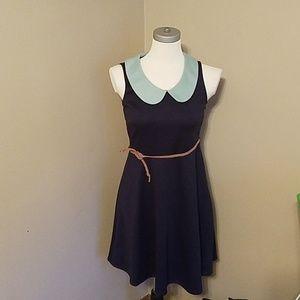 Modcloth Fervour Collared Dress